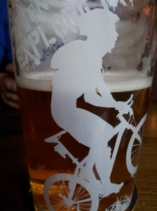Bike on pint